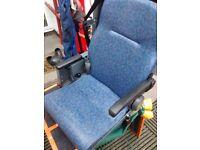 ambulance rear seats, motorhome seats