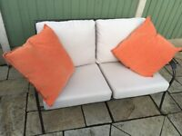 2 seater all weather settee