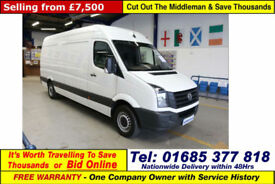 2014 - 64 - VOLKSWAGEN CRAFTER CR35 2.0TDI 109PS LWB HIGH TOP VAN (GUIDE PRICE)