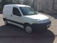 !!CITREON BERLINGO WHITE IN COLOUR DIESEL YEARS MOT!!!
