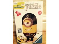 Minions 3D puzzle new