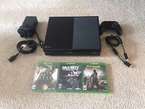 XBOX ONE BUNDLE FOR SALE WITH GAMES $240! OR TRADE FOR PS4!