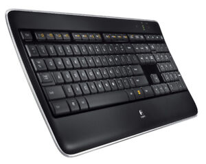logitech illuminated wireless keyboard (k800)