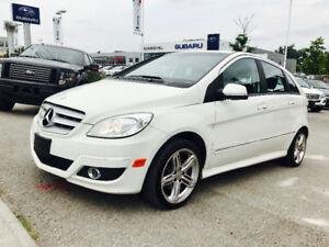 2011 Mercedes-Benz B-200 White on Grey cloth, Sunroof ...