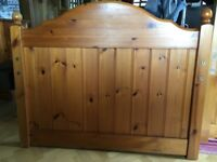 Single cabin bed, pine
