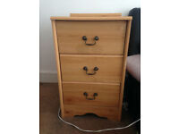 Two bedside cabinets