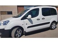 2014 Peugeot Partner Tepee Diesel Outdoor White Car (Possible Wheelchair Hoist)
