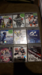 12 Ps3 games for sale