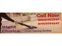 RIGHT CHOICE CARPET CLEANING NOTTINGHAMSHIRE 50% OFF