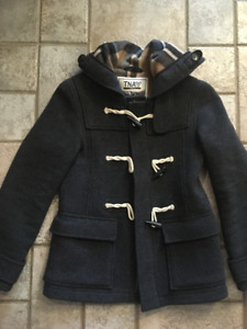 WOMEN'S TNA FALL COAT (dark grey)