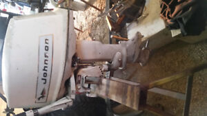 14 hp Johnson outboard
