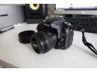 Nikon D600 + AF-S 50mm 1.4