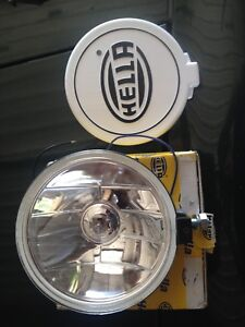 New Hella Driving Light and Shield