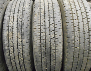 4 Tires sized 235.75.17 at 90-95% Tread left on them Selling for
