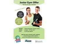 Junior Gym Offer at Thame Racquets Fitness Centre