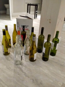 bouteilles de vin vides à Valleyfield