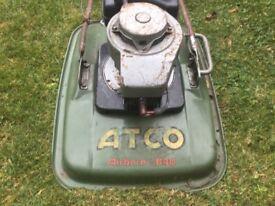 Atco petrol lawnmower