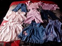 Bargain Bundle Girls Baby Clothes. Age 6-9 Month. (69 items)