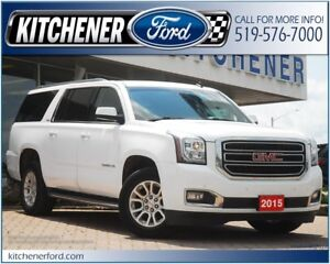 2015 GMC Yukon XL 1500 SLE TOW PKG/ADJ PDLS/PWR GROUP/SEATS 8!