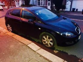 2008 SEAT LEON STYLANCE 2.0L TDI IN BLACK FULL SERVICE HISTORY HAS HAD NEW CLUTCH & TIMING BELT DONE