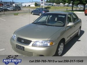 2002 Nissan Sentra ONLY 49000 KM! LIKE BRAND NEW!