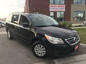 NICE 2009 VOLKSWAGON ROUTAN TOWN & COUNTRY $5,999 CERTIFIED