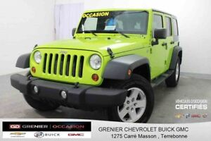 2013 Jeep Wrangler Unlimited Sport TRAIL RATED 4X4
