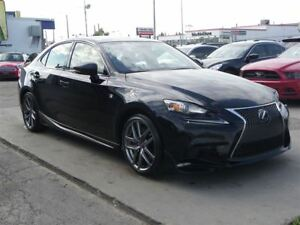 2015 Lexus IS 350 AWD F-SPORT|GPS|B.CAMERA|LEATHER|LOADED!!