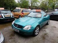 Mercedes-Benz SLK Kompressor 2.3cc Petrol Auto 1999 In Metallic Green Top Spec