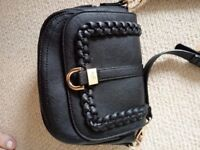 Black Dune of London Crossbody Handbag