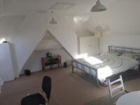 Large loft room for single professional in Harrow