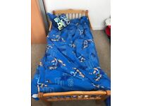 Toddler bed. Perfect condition. Needs gone asap as moving.