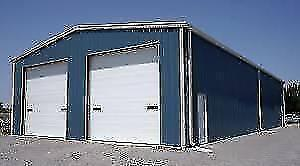 WE BUILD CUSTOM GARAGES, SHOPS, WAREHOUSES, GENERAL CONTRACTOR