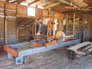 Norwood 34 -23 HP band sawmill