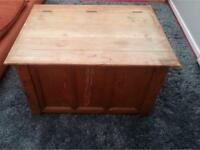 Large Solid Wood Chest