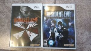 Resident Evil Umbrella Chronicles + Darkside Chronicles (2 jeux)
