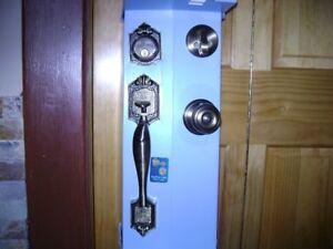 Schlage door lock set