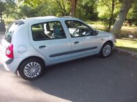 NICE CLIO !!! LOW MILAGE !!!