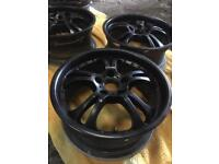 "HRS / HIJOIN Alloys 17"" Honda Civic Accord Prelude Civic Type R S2000 Integra Type R CR-Z 5x114.3"