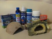 Stuff for fish/fish tank