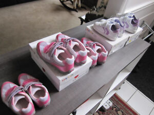 Geox,Girls Shoes 10 (white/lilac)10,13 & 1 (pink) BN,REDUCED