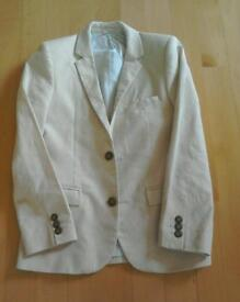 Marks and Spencers Boys Linen Jacket Age 10-11.