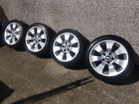 *Genuine BMW 17in BBS Alloys (with good run flat tyres)*