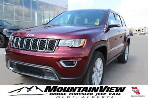 2017 Jeep Grand Cherokee Limited ONLY 181 KM!