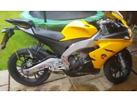 Aprilia rs4 125cc 2014