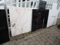 Various Fire Marble Back Plates Square Lots Available for sale  Tyne and Wear