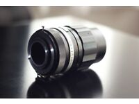 SOLIGOR Tele-Auto 1:2.8 f=135mm Camera Lens (M42 Mount).