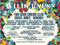 2 x Adult Wilderness Festival Tickets (3rd-6th July) Quiet Camping & Car Parking