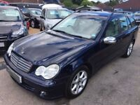 2004/54 MERCEDES C200 KOMPRESSOR CLASSIC SE AUTOMATIC ESTATE,LOW MILEAGE,GREAT SPEC,LOOK+DRIVES WELL