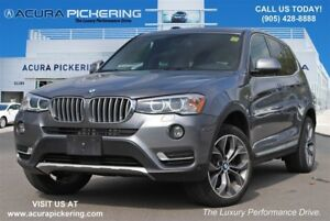 2015 BMW X3 xDrive28i|Panoramic Sunroof|Bluetooth|Rear View Ca